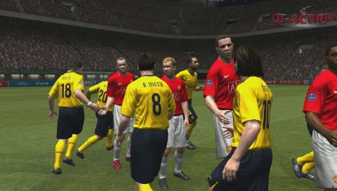 Pro Evolution Soccer 2009 - Man Utd vs Barcelona