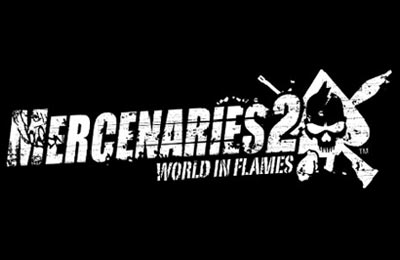 Mercenaries 2 - logo