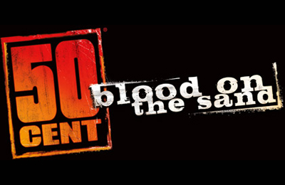 50 Cent Blood on the Sand - logo