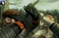 Metal Gear Solid 3: Snake Eater 3D - Zobacz, jak Snake walczy na 3DS [WIDEO]
