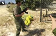 Zwiastun Metal Gear Solid V: The Phantom Pain odtworzony w GTA V [WIDEO]