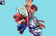 Ryu ze Street Fightera w Super Smash Bros?