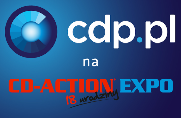 CDP.pl na CD-Action EXPO!