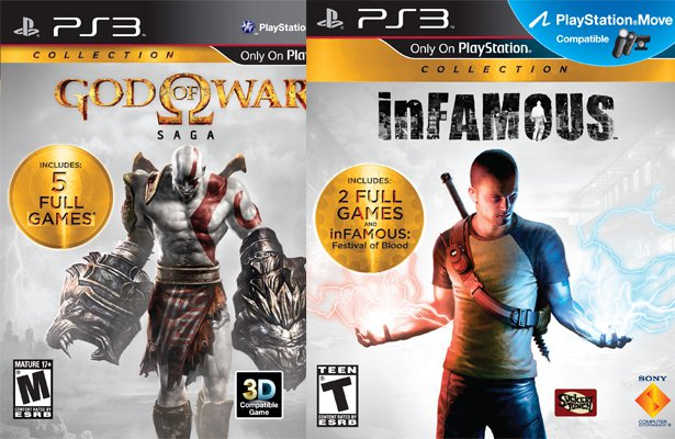 God of War Saga i inFAMOUS Collection